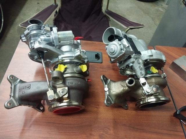 VWVortex com - GLI VS GTI turbo's